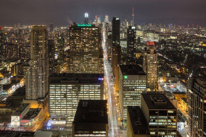 #5002 - 50 Yorkville Avenue - View at night