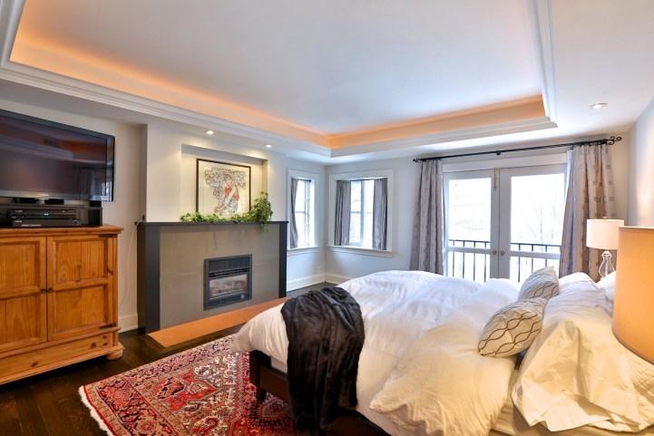 91 Crescent Road - Master Bedroom