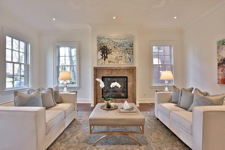 200 Inglewood Drive - Living Room Fireplace