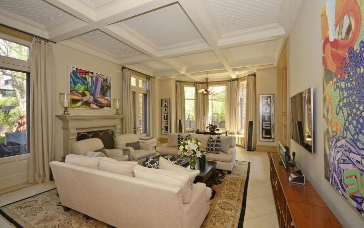 20 Elm Avenue - Family Room Fireplace
