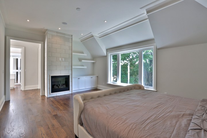 491 Glengarry Avenue - Master Bedroom From Bed