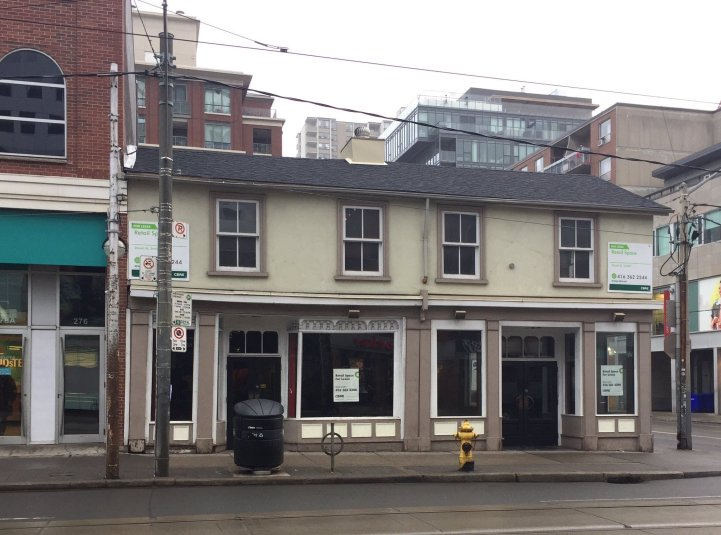 Toronto's Trendy Queen Street West Is Filling With Empty Storefronts