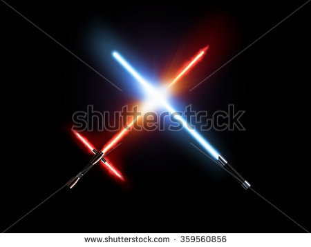 stock-photo-light-saber-fight-red-and-blue-isolated-on-black-lightsaber-futuristic-weapons-war-sabre-sword-359560856