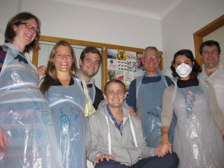 Alice (+1), Harriet (+2), Fred, George, Andrew, Mariacristina, Tom