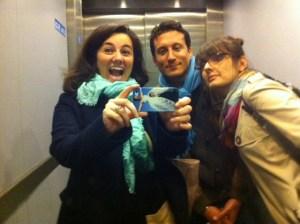Mariacristina, Lorenzo and Jagoda