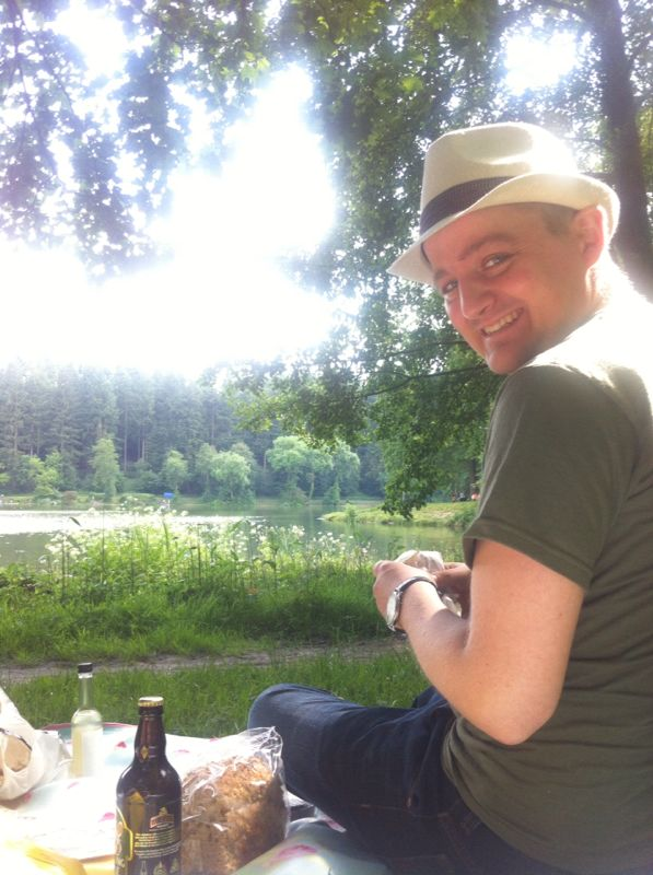 George at Lake Shearwater
