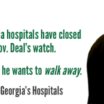 As Georgia's hospital crisis grows, Gov. Deal walks away