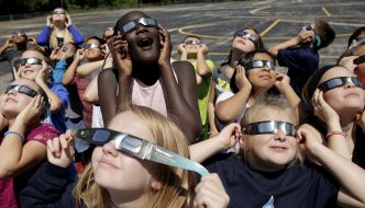 The solar eclipse is coming!