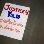 Vigils for Yulio Castro-Garrido raise questions about his death, prison conditions