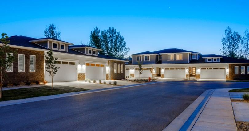 homes in a multi-unit rental complex