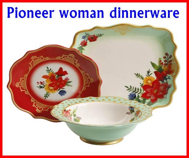 Pioneer woman dinnerware