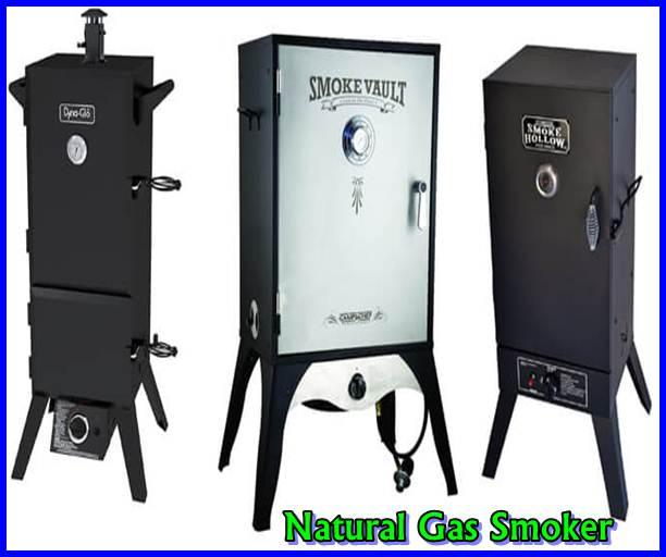 Natural Gas Smoker