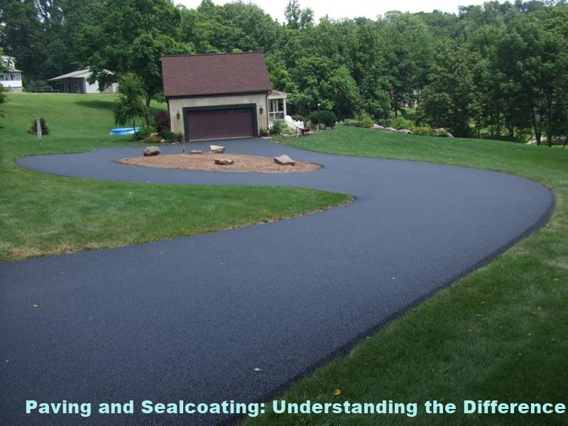 Paving and Sealcoating: Understanding the Difference