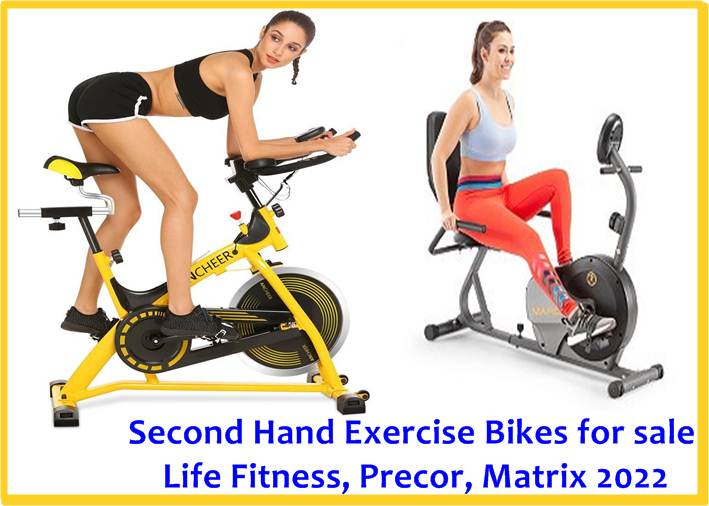 Second Hand Exercise Bikes for sale