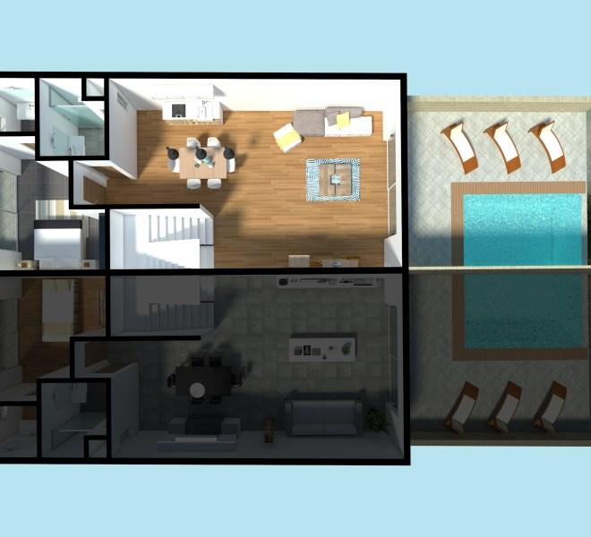 02 - First Floor - House 1