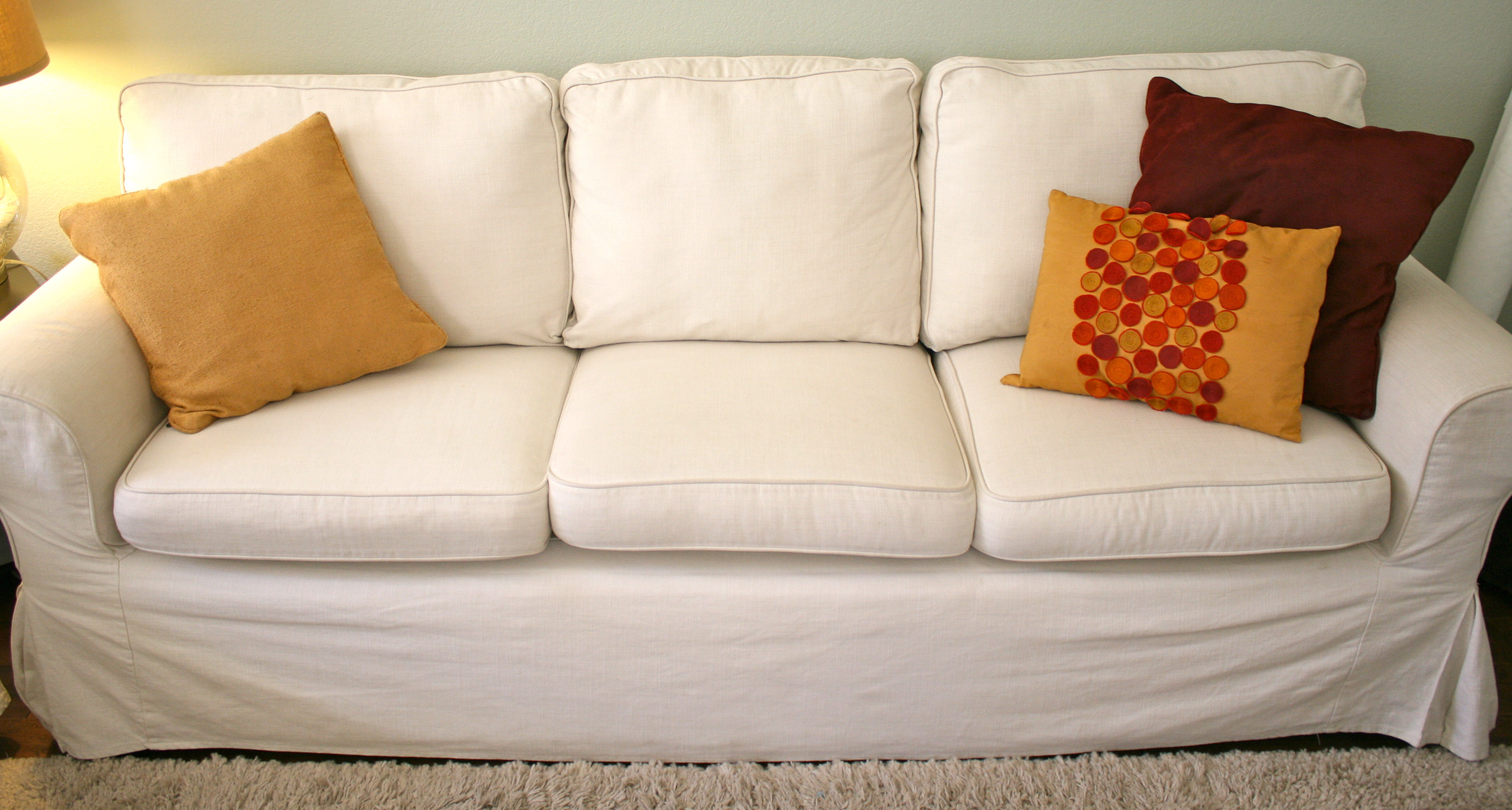 sagging sofa sectional with two chaise heres how to make your couch cushions look plump