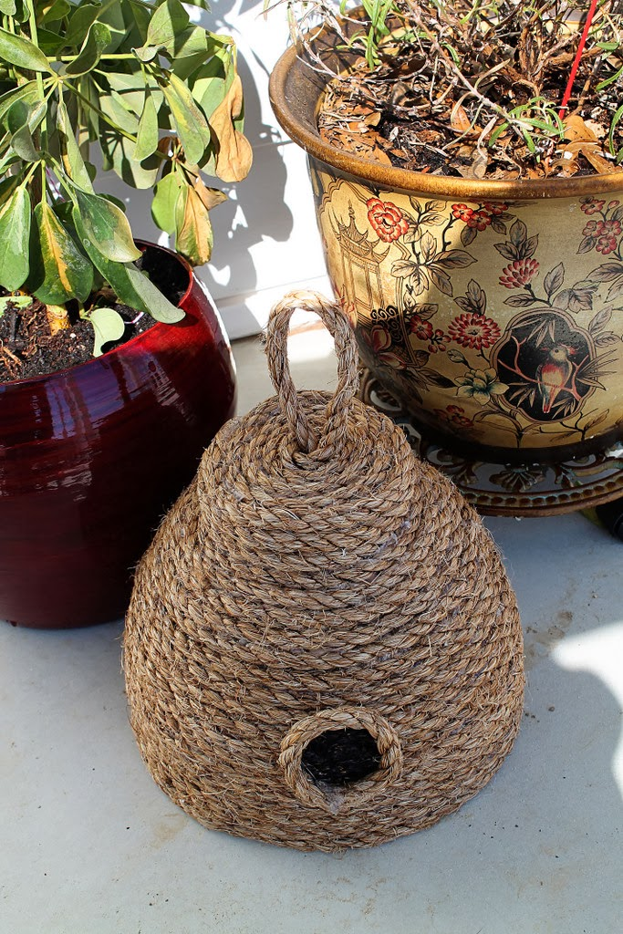 DIY Make This Super Cute Beehive For Your Front Porch For Under 10 Better HouseKeeper