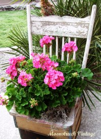 Gardening DIY: Turn a Thrift Store Chair Into a Cute ...