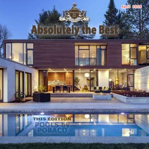 Absolutely the Best Front Cover April 2019... featuring Pobaco Luxury Pools