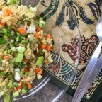 Fried Cauliflower Rice – Sheet Pan Method