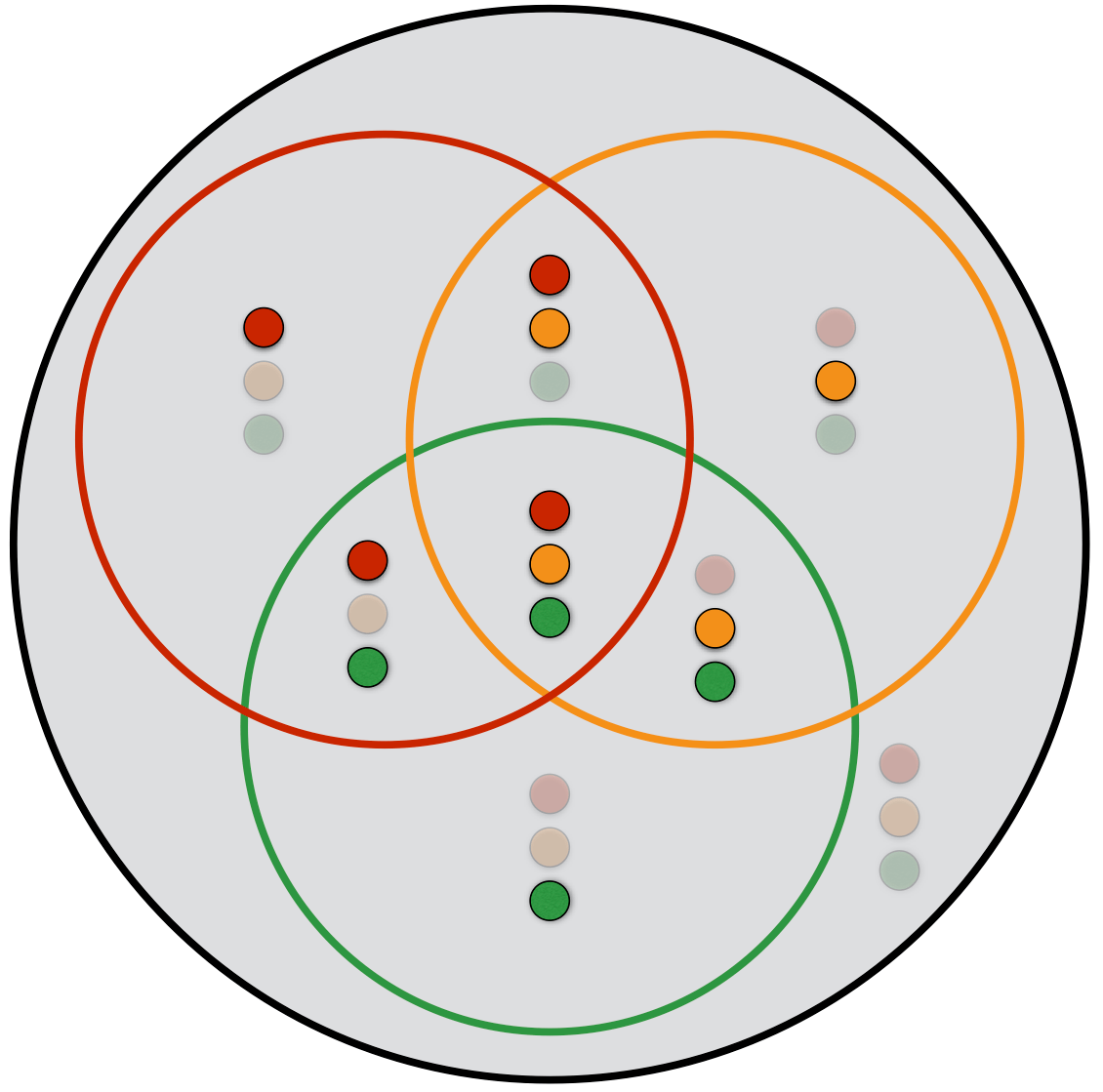 hight resolution of this diagram shows the state represented by each region