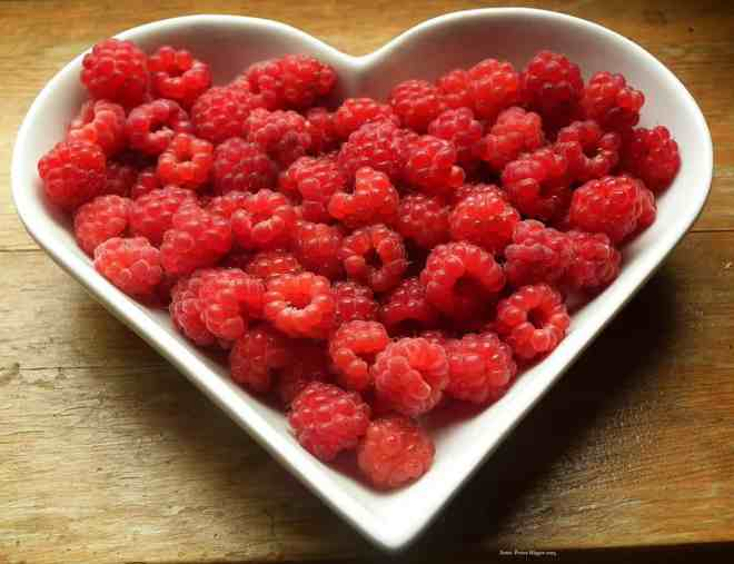An eating plan rich in plant foods, such as fresh raspberries, is good for your heart, and the rest of you
