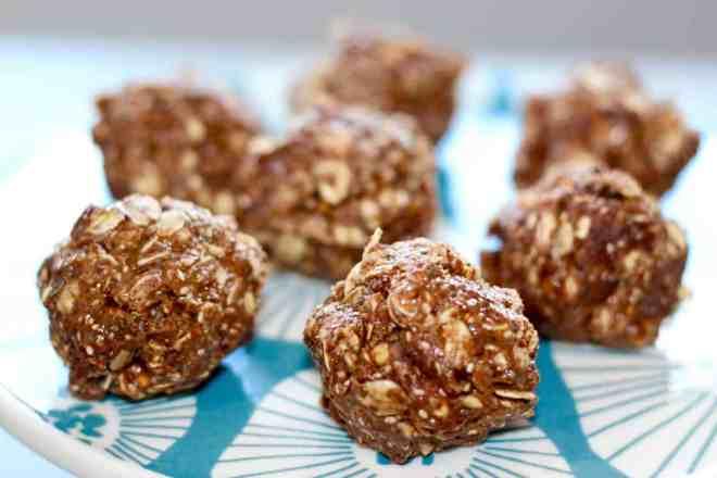 Almond Pistachio Cocoa Bites by Amy Gorin