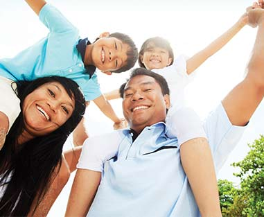Dental Coverage Feature Image of a Family