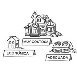 ¿Qué casa puedo pagar cómodamente e incluir en mi presupuesto?