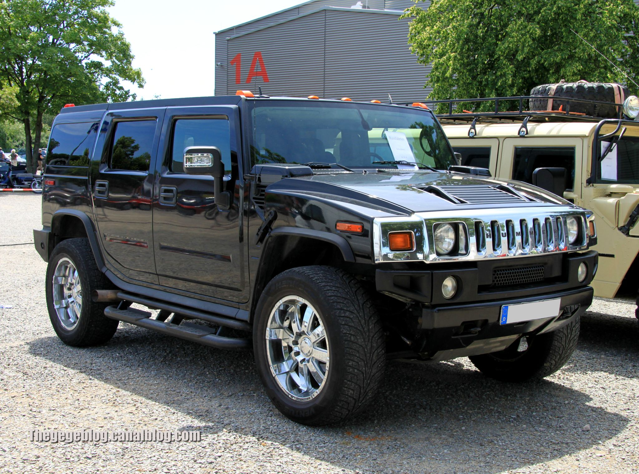 Hummer H2 history photos on Better Parts LTD