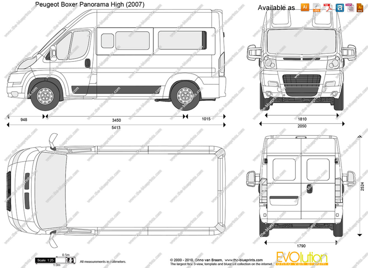 Peugeot Boxer technical details, history, photos on Better