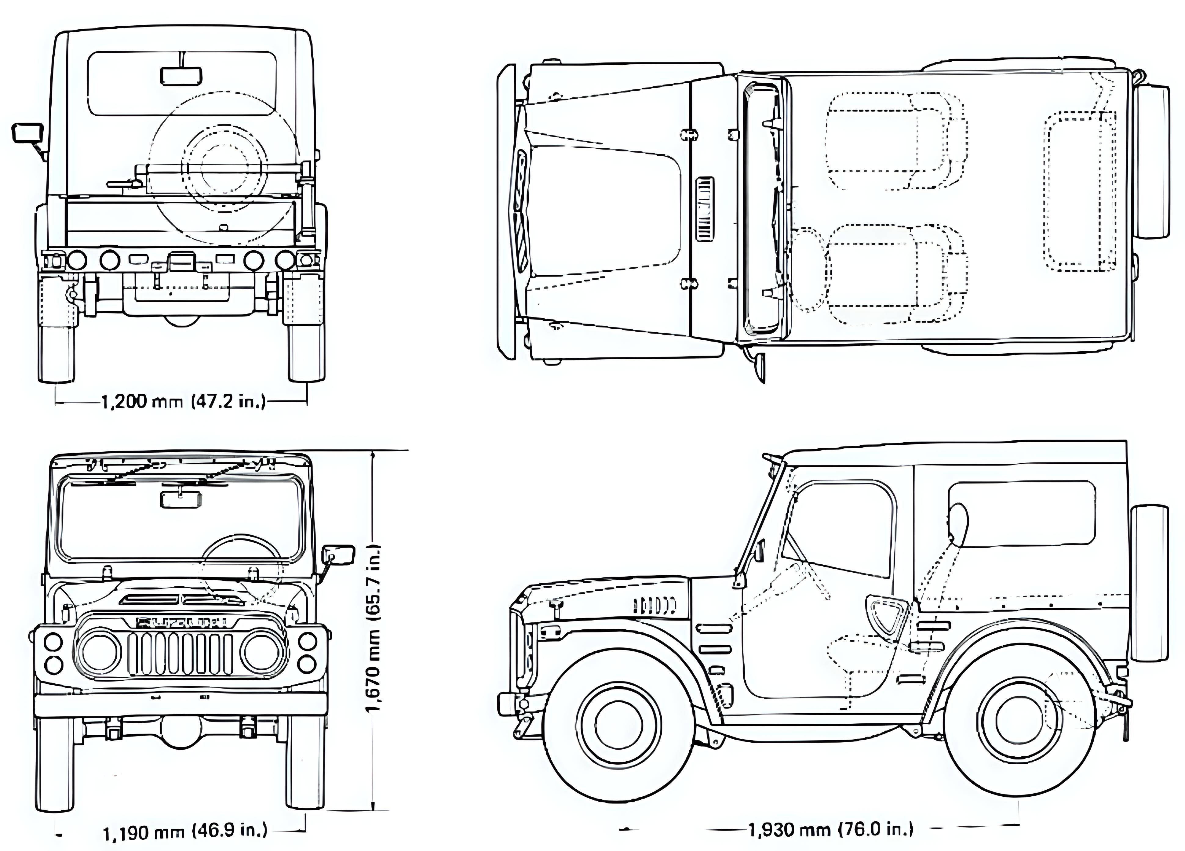 Suzuki LJ 80 technical details, history, photos on Better