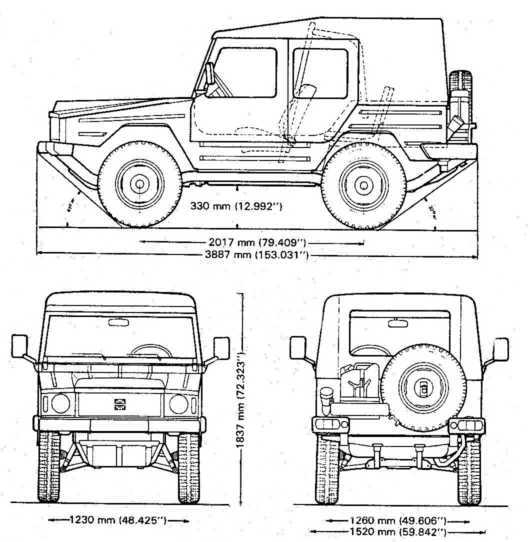 Vw Iltis Technical Details History Photos On Better