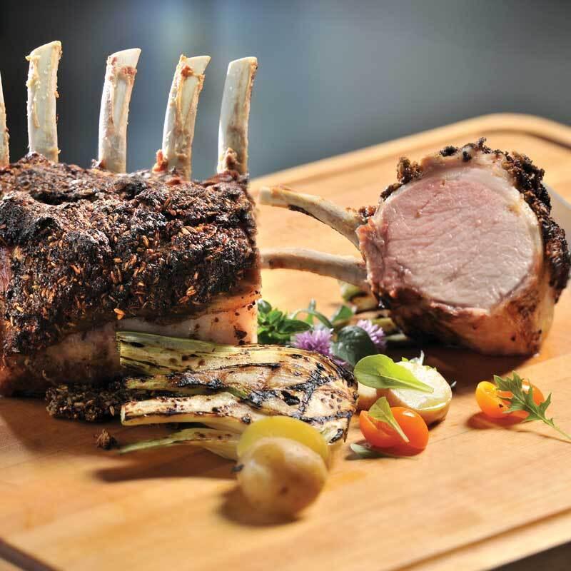 prime rib of pork french rack