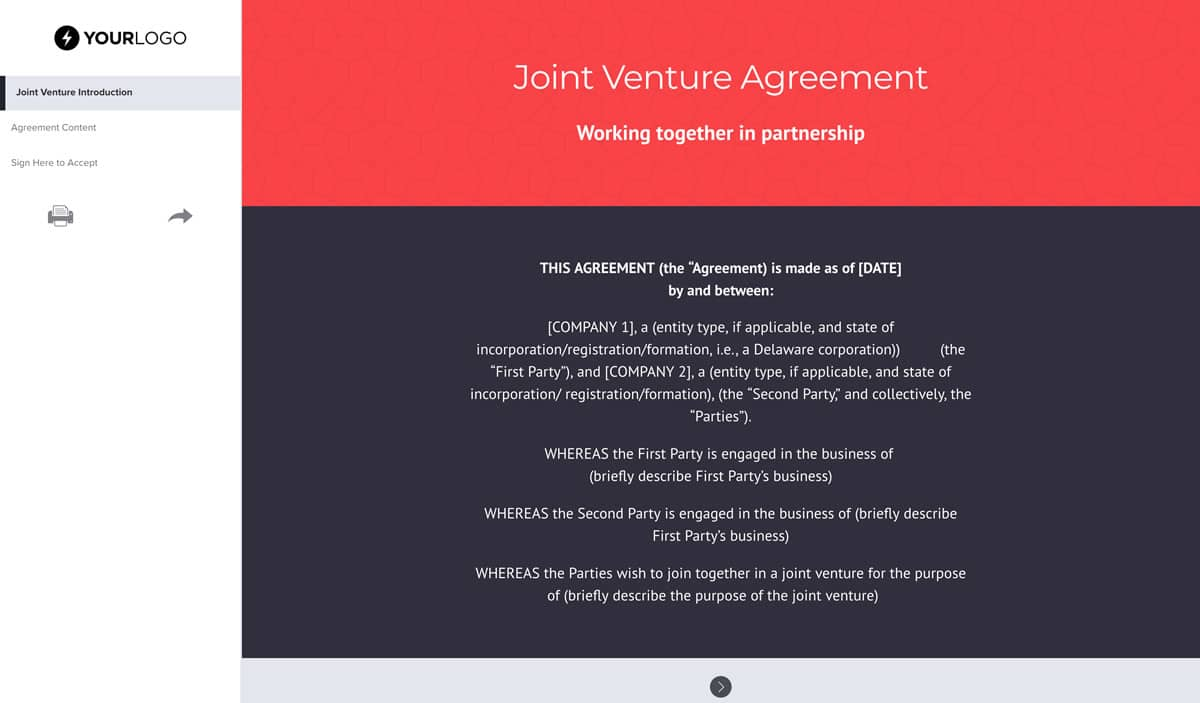 Edition 1 of cidb document 1017 page 1 cidb joint venture agreement joint venture agreement (march 2004) (first edition of cidb document 1017) 1. Free Joint Venture Agreement Template Uk Better Proposals