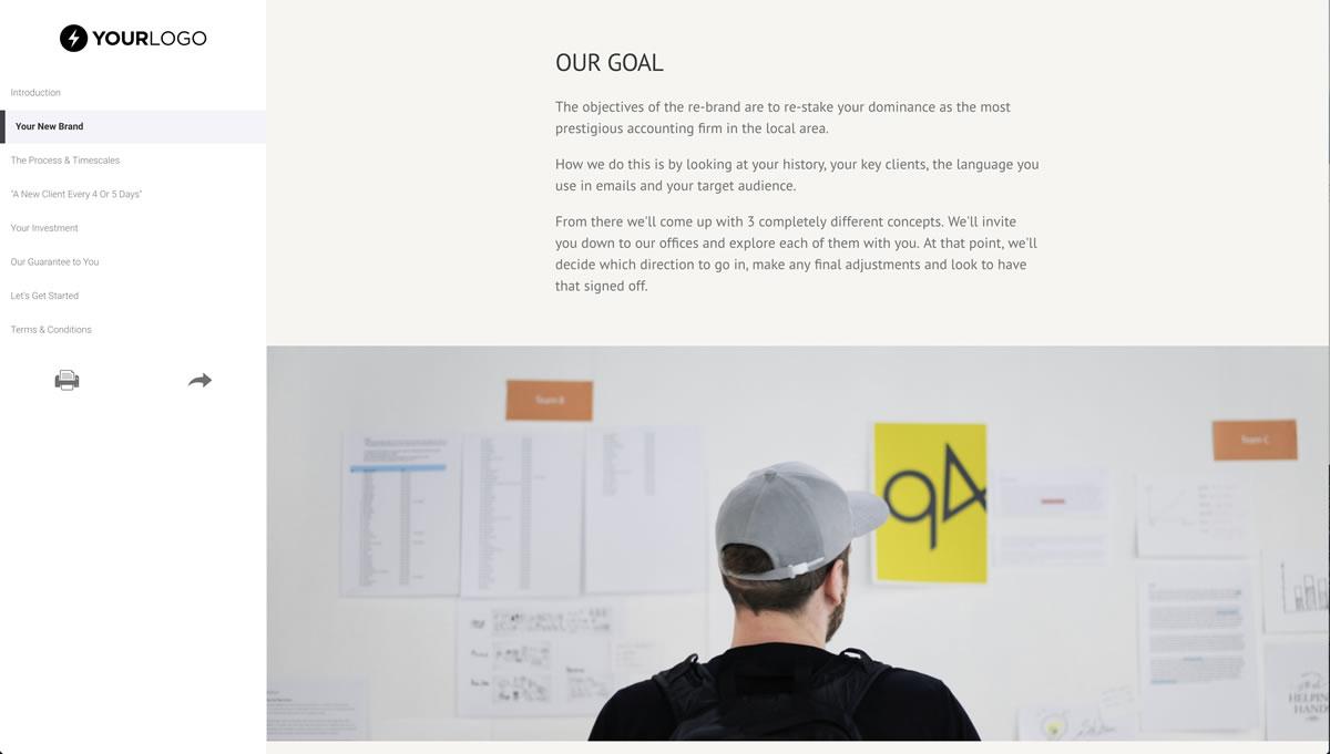 Brand Design Proposal Template - Better Proposals