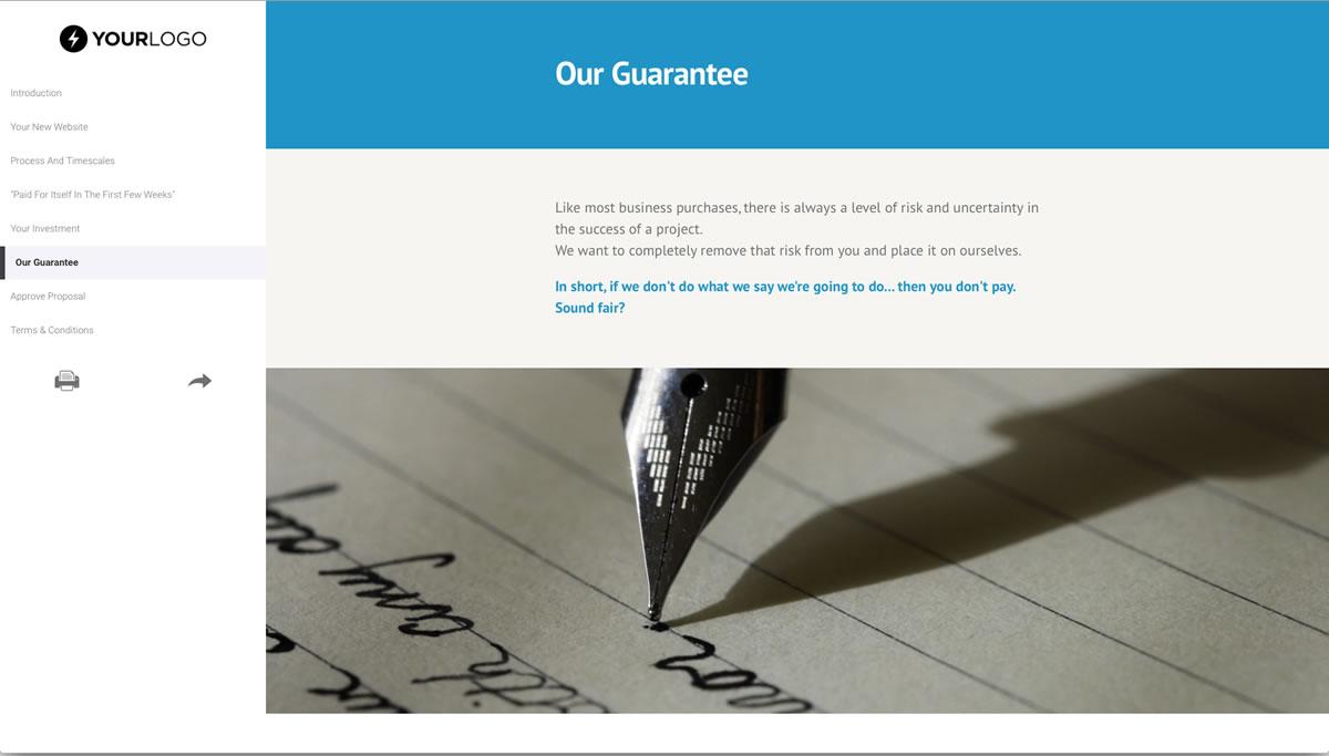 Free Website Design Proposal Template - Better Proposals