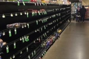 Vali Produce, Bread Aisle, March 15, 2020