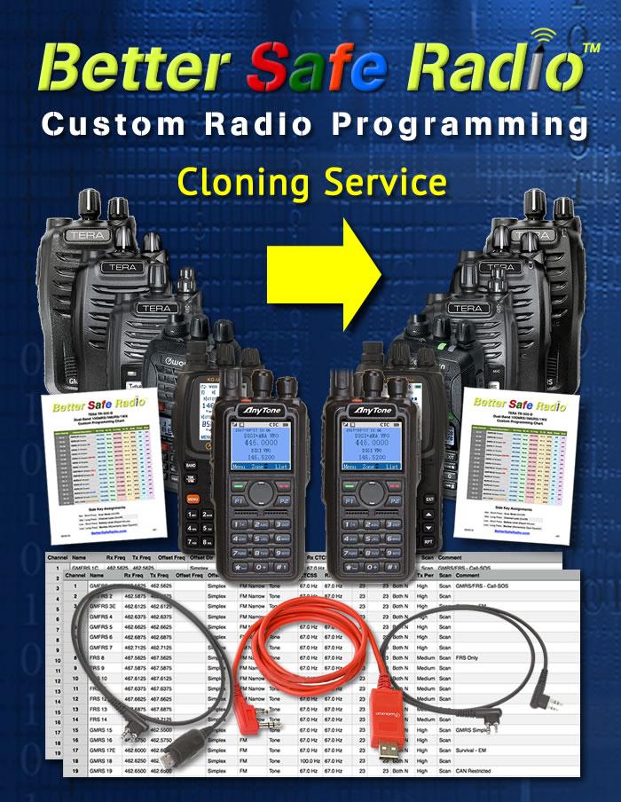 BSR-CLN Custom Radio Programming Cloning Service