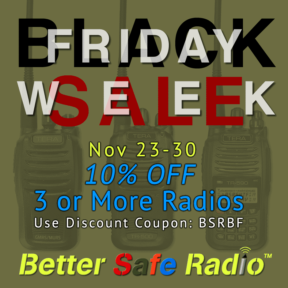 BetterSafeRadio Black Friday Sale Week 2016 Promo