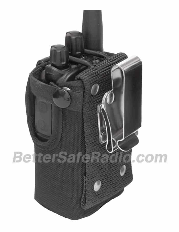 TERA CSC-500 Heavy Duty Nylon Radio Case - Back