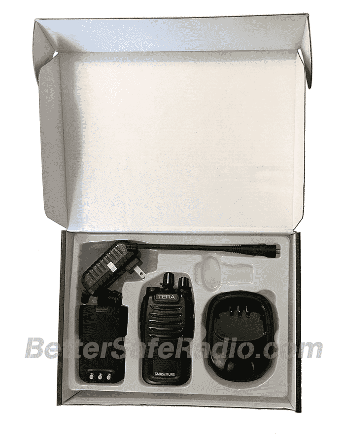 TERA TR-505 GMRS-MURS Two-Way Radio - Box Inside 2