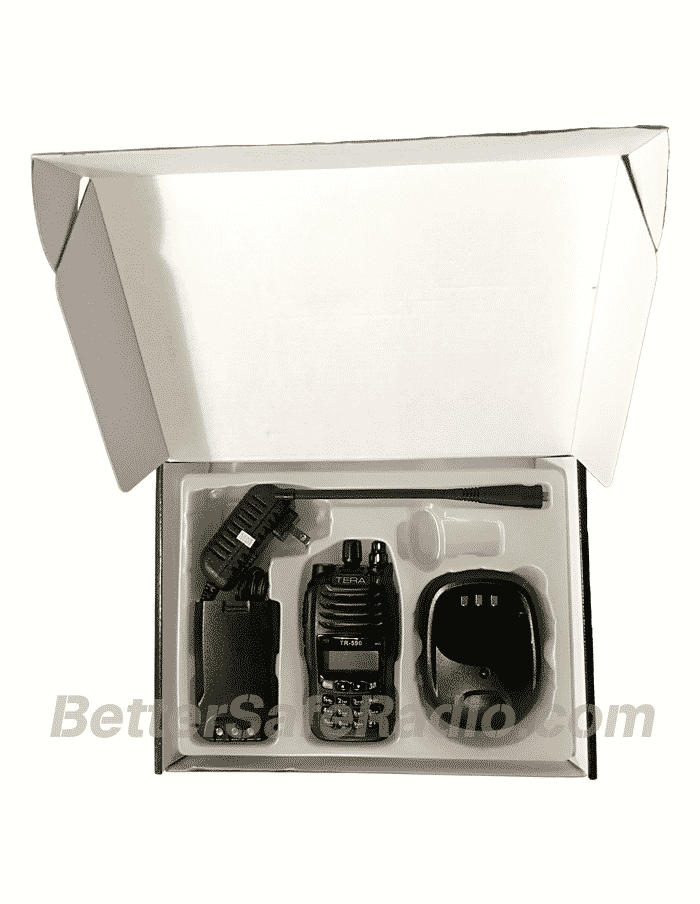 TERA TR-590 Commercial Ham Two-Way Radio - Box Inside