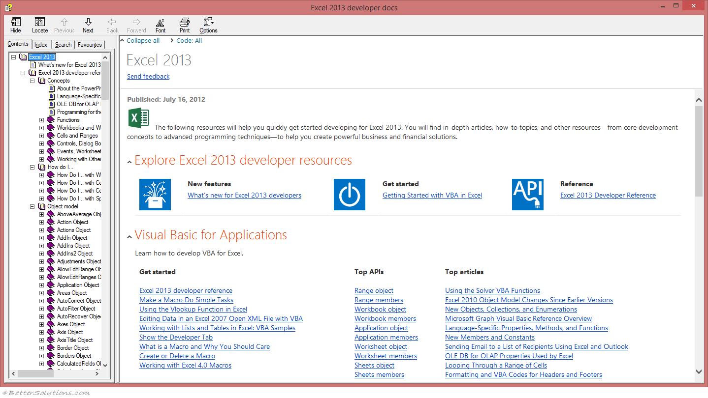 Vba Visual Basic Editor