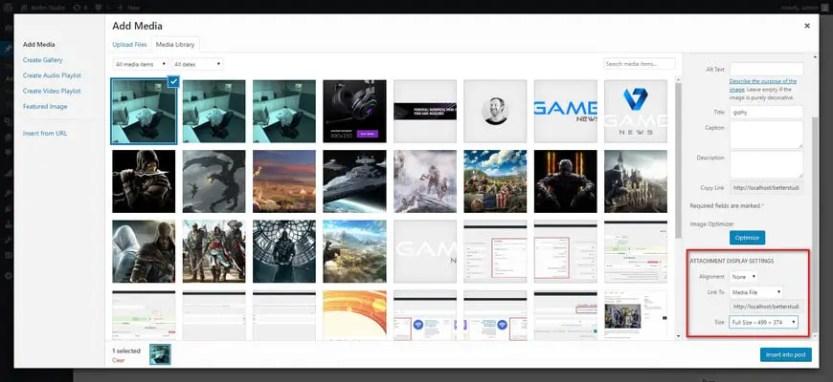 WordPress GIF is not Working