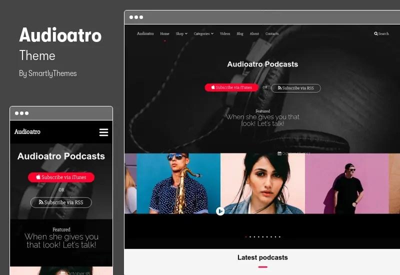 Audioatro Theme - Multipurpose Audio WordPress Theme