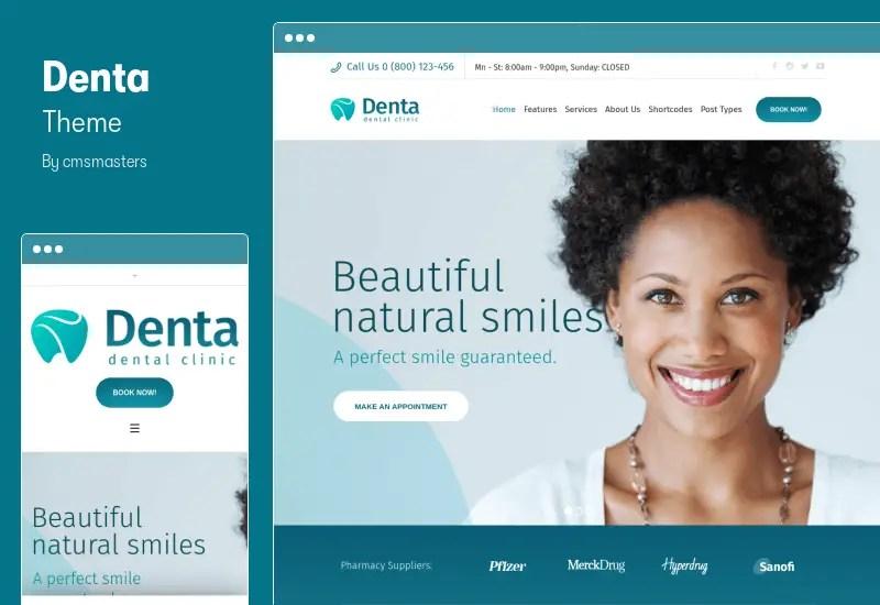 Denta Theme - Dental Clinic WP Theme