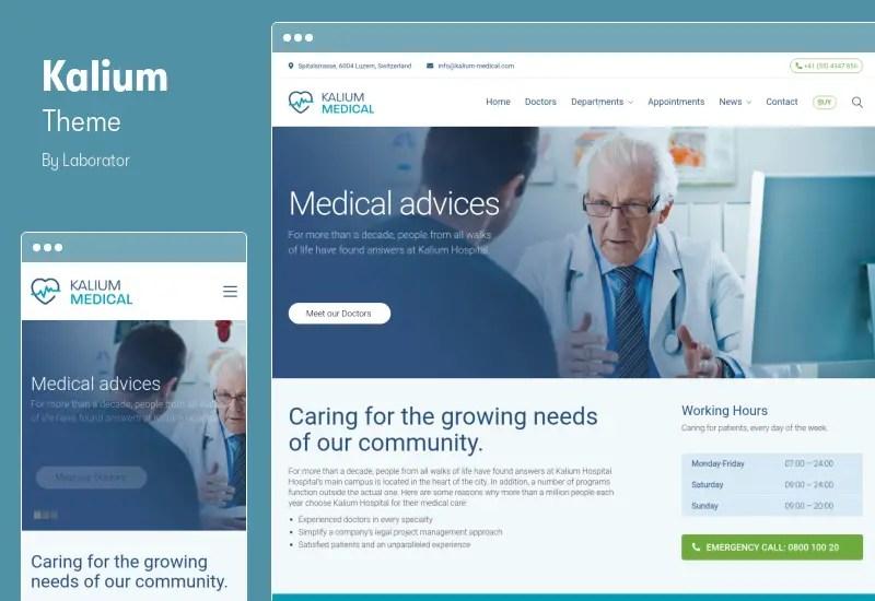 Kalium Theme - Creative Multipurpose Theme for WordPress and WooCommerce