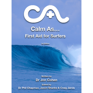 cover of Calm As...First Aid for Surfers eBook