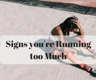 running too much